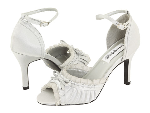 Pantofi Touch Ups - Frilly - Silver Satin