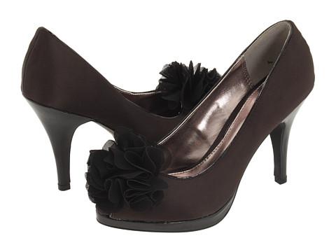 Pantofi Unlisted - Natural Glow - Black Satin