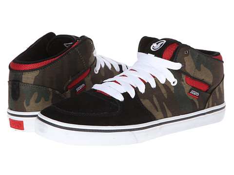 Adidasi DVS Shoe Company - Torey - Black/Camo Canvas