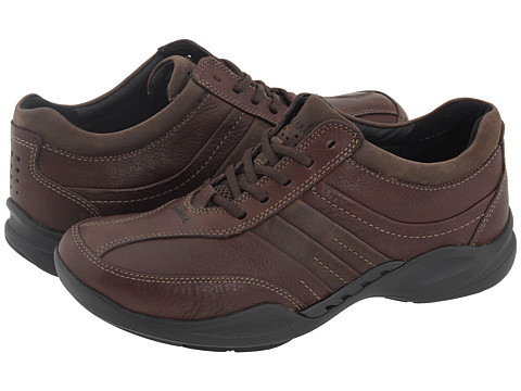 Pantofi Clarks - Wave.Tract - Brown Leather