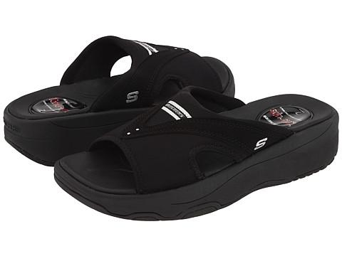 Sandale SKECHERS - Tone Ups - Electric Slide - Black