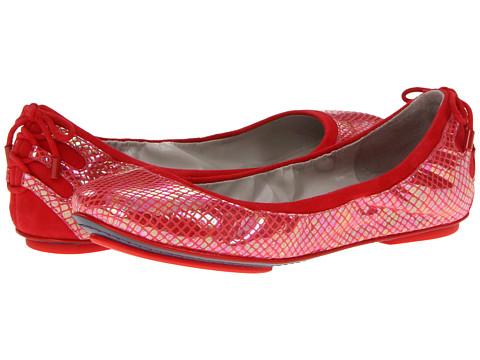 Balerini Cole Haan - Air Bacara Ballet - Cherry Tomato Metallic Snake Print