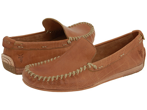 Pantofi Frye - Alex Venetian - Light Brown Washed Calf Leather