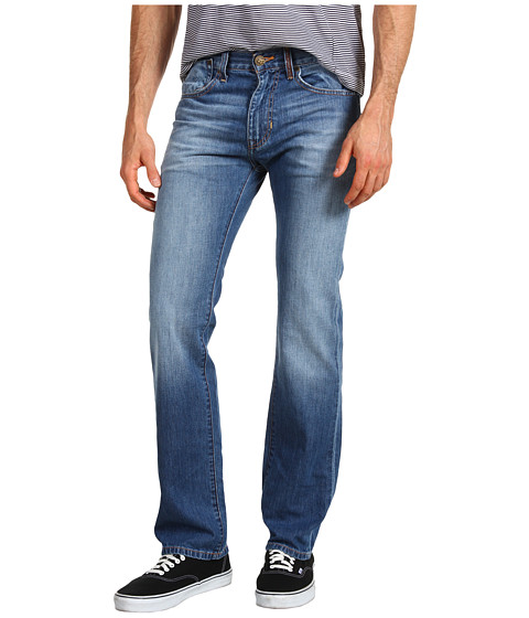 Pantaloni Fox - Throttle Jean - Slightly Faded