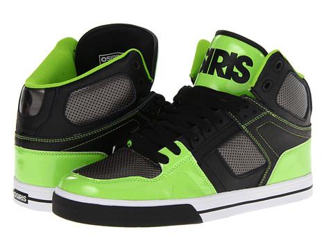 Adidasi Osiris - NYC83 VLC - Black/Gun/Lime
