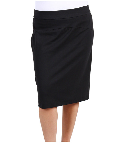 Fuste Michael Kors - Plus Size Pencil Skirt - Black