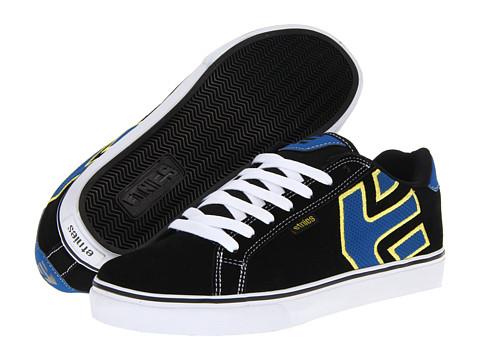 Adidasi etnies - Fader Vulc - Black/Blue (Suede/Action Nubuck)