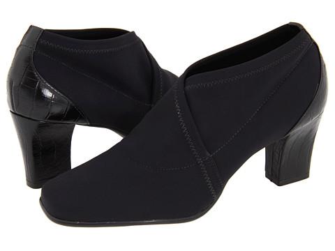 Pantofi Donald J Pliner - Reya2 - Black Crepe Elastic