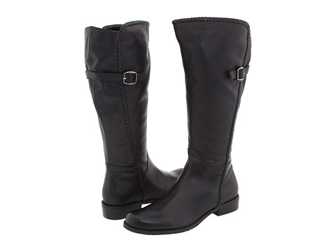 Cizme Gabriella Rocha &#8211; Katy Wide Calf &#8211; Black Pebble