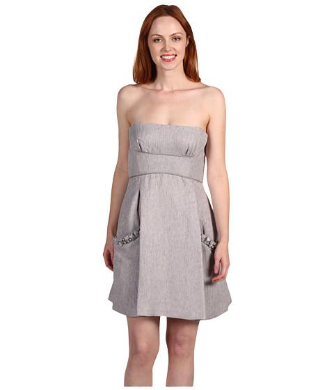 Rochii BCBGMAXAZRIA - Woven Dress 2 - Misty Morning