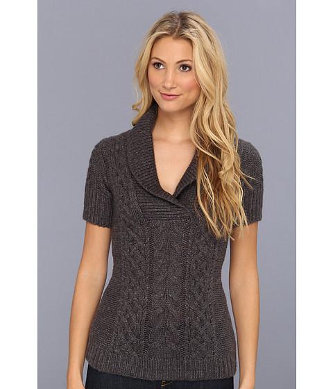 Bluze BCBGMAXAZRIA - Shawl Collar Sweater - Medium Heather Grey
