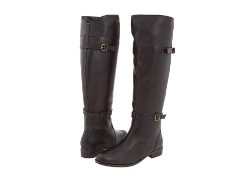 Cizme Type Z - Soha Wide Calf - Dark Brown Calf