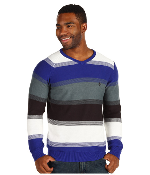 Pulovere Volcom - Standard Stripe Sweater - Bold Blue