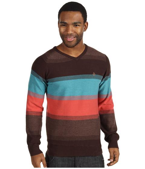 Pulovere Volcom - Standard Stripe Sweater - Dust Red