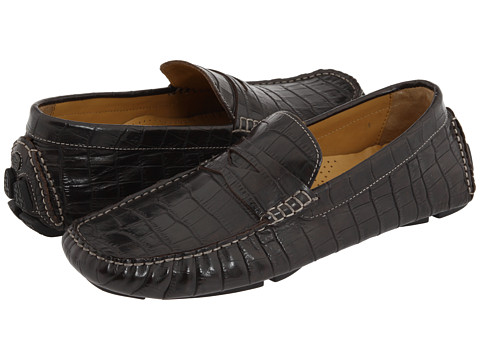 Pantofi Cole Haan - Howland Penny - T Moro Croc Print