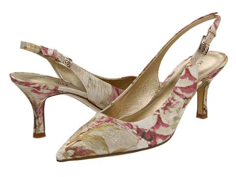 Pantofi Anne Klein - Harquin - Ivory Floral Fabric