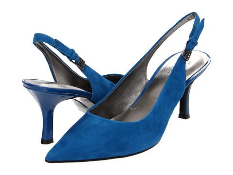 Pantofi Anne Klein - Harquin - Cobalt Suede
