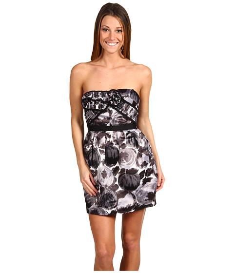 Rochii BCBGMAXAZRIA - Strapless Dress 2 - Black Combo