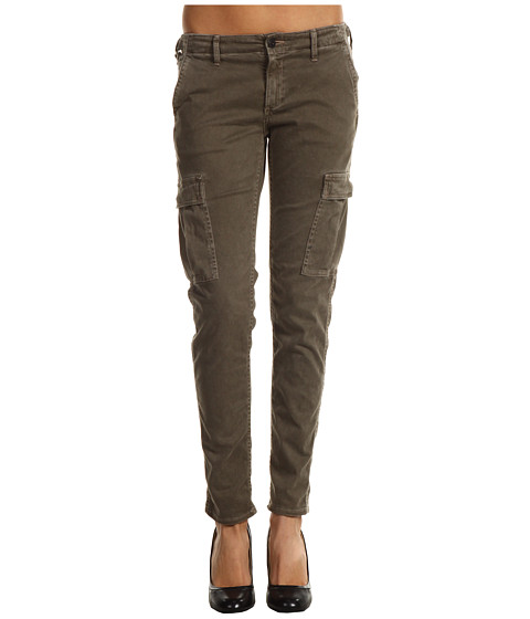 Pantaloni AG Adriano Goldschmied - Sateen Slim Cargo Pant - Brown