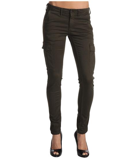 Pantaloni AG Adriano Goldschmied - Sateen Slim Cargo Pant - Fatigue Green