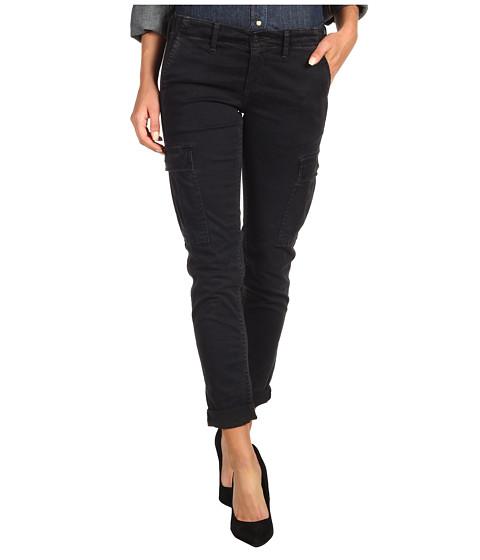 Pantaloni AG Adriano Goldschmied - Sateen Slim Cargo Pant - Black