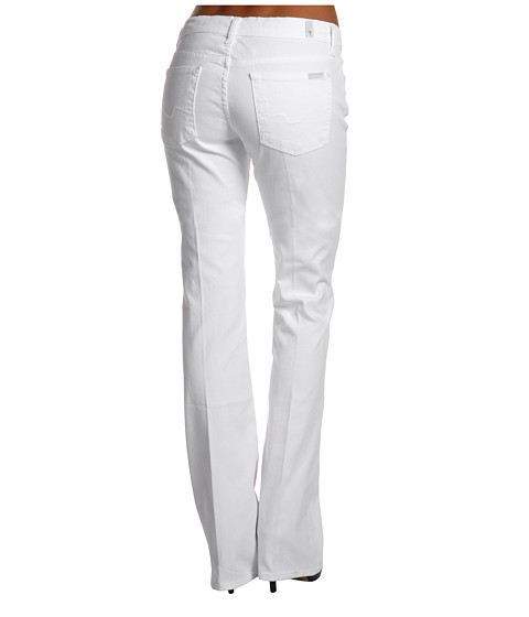 Blugi 7 For All Mankind - Bootcut in Clean White - Clean White