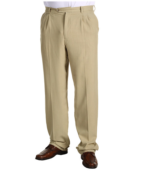 Pantaloni Tommy Bahama - Big & Tall Flying Fishbone Pant - Khaki