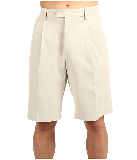 Pantaloni Tommy Bahama - Big & Tall Flying Fishbone Short - Khaki Sands