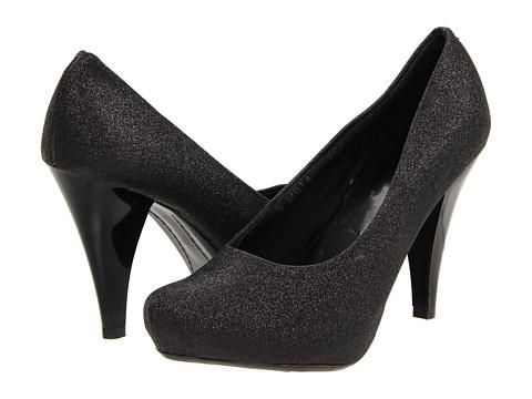 Pantofi Gabriella Rocha - Quilla - Black Glitter