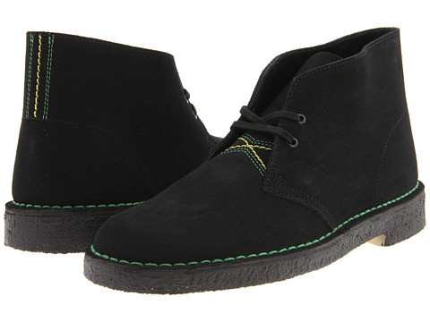 Ghete Clarks - Desert Boot - Jamaican Black Suede