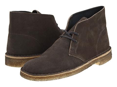 Ghete Clarks - Desert Boot - Grey Corduroy