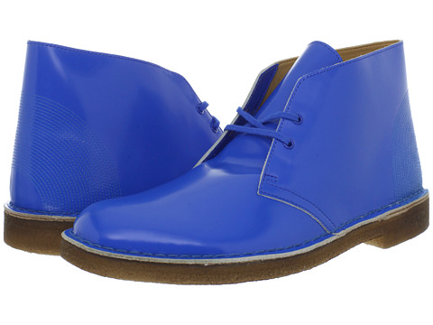 Ghete Clarks - Desert Boot - Cobalt Blue