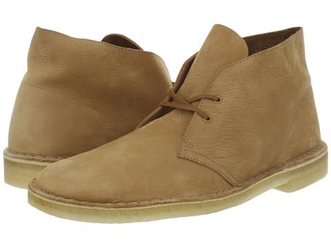 Ghete Clarks - Desert Boot - Tan Nubuck