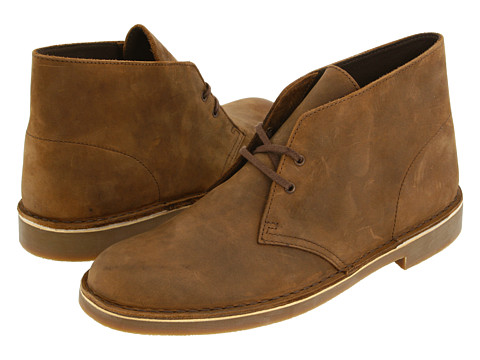 Ghete Clarks - Bushacre II - Beeswax Leather