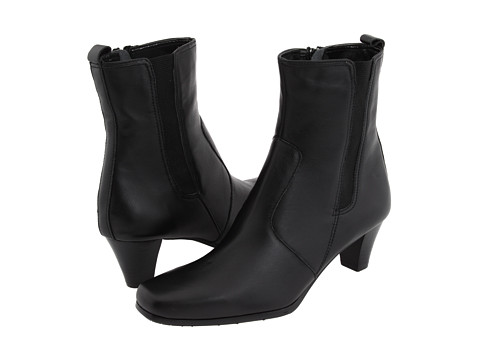 Ghete Fitzwell - Caitlyn Ankle Boot - Black Leather