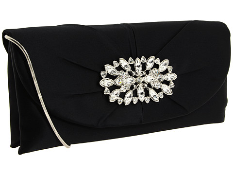 Posete Franchi Handbags - Cara Clutch - Black