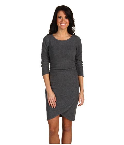 Rochii BCBGMAXAZRIA - Ruched Sweater Dress - Medium Heather Grey