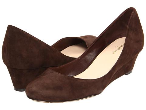 Pantofi Cole Haan - Air Talia Wedge 40 - Chestnut Suede