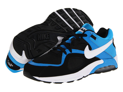 Adidasi Nike - Air Max Go Strong - Black/Blue Hero/Matte Silver/White
