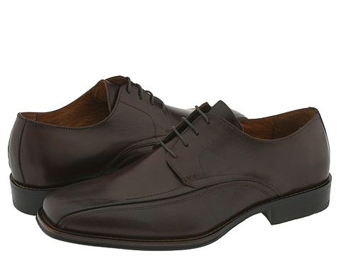 Pantofi Johnston & Murphy - Harding Panel Lace Up - Dark Brown Leather