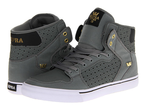 Adidasi Supra - Vaider - Charcoal/Black/Gold/White