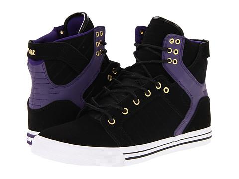 Adidasi Supra - Skytop - Black/Purple/Gold