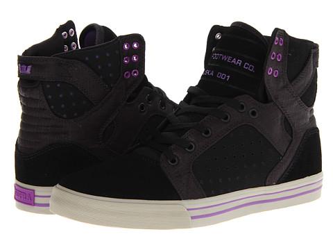 Adidasi Supra - Skytop - Black/Purple/Grey