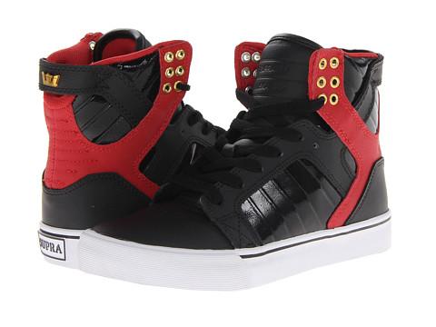 Adidasi Supra - Skytop - Black/Red/White