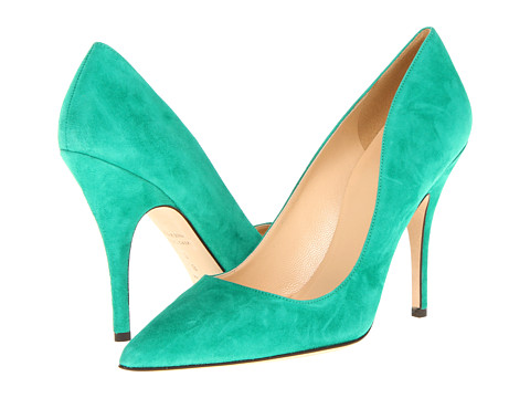 Pantofi Kate Spade New York - Licorice - Beryl Green Suede