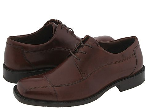 Pantofi Johnston & Murphy - Dobson Cap Lace Up - Mahogany