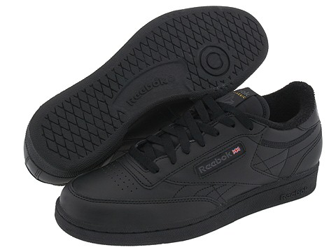 Adidasi Reebok - Club C - Black/Charcoal