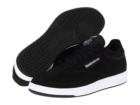 Adidasi Reebok - Club C - Black/White/Nubuck