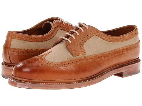 Pantofi Florsheim - Veblen Limited - Camel Smooth Leather/Natural Canvas