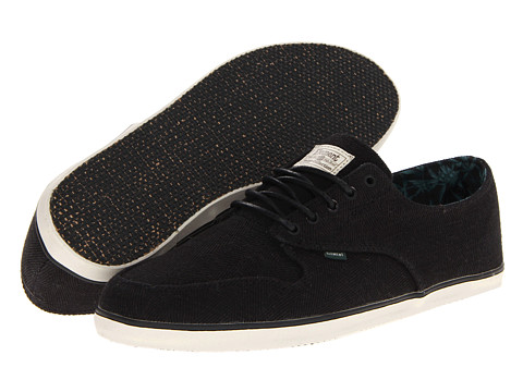 Adidasi Element - Bowery - Black Herringbone Hemp
